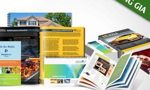 Thiết kế và in catalogue giá rẻ tại quận Tân Phú