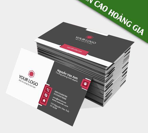 Công ty in name card giá rẻ tại tphcm