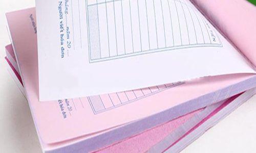In hóa đơn giá rẻ tại tphcm