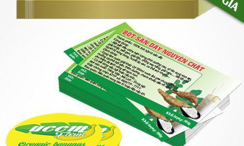 Nhận in tem nhãn decal các loại giấy nhựa giá tốt quận Bình Thạnh