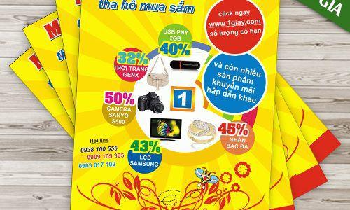 In poster quảng cáo giá tốt tại tphcm