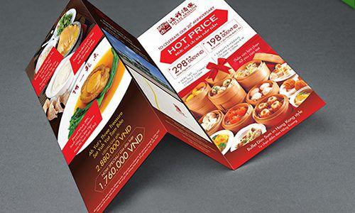 In brochure chất lượng giá rẻ tại quận tân phú