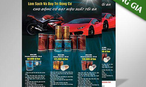 In poster quảng cáo giá rẻ