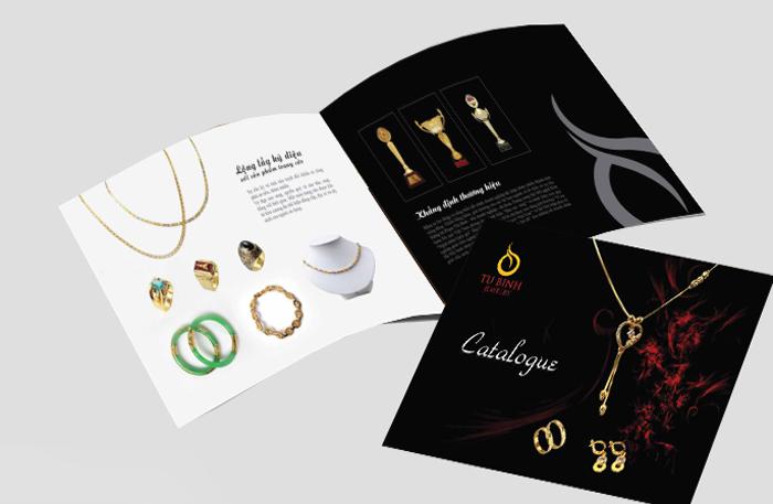 In catalogue trang sức chuyên nghiệp giá rẻ